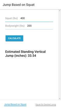 Vertical Jump Calculator poster