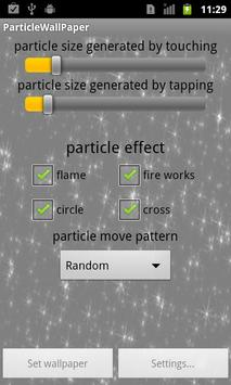 Particle Wallpaper screenshot 4