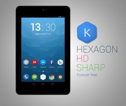 Kutbay - Hexagon Icon Pack apk screenshot