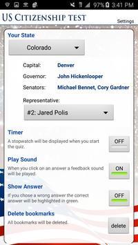 US Citizenship Test 2018 FREE apk screenshot