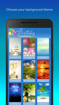 Birthday Countdown captura de pantalla 3
