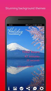 Holiday Countdown screenshot 4