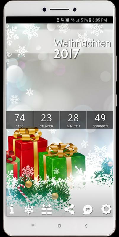 weihnachts countdown 2017 apk weihnachts countdown. Black Bedroom Furniture Sets. Home Design Ideas