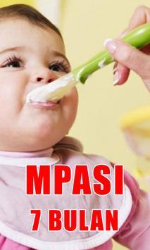 MPASI 7 Bulan - Kumpulan Resep poster