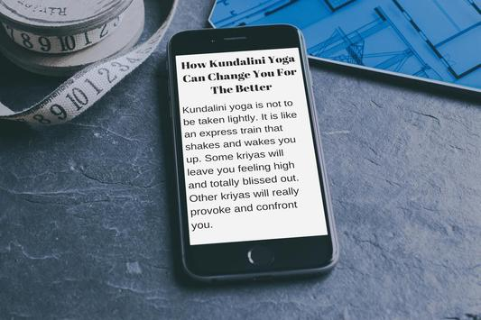KUNDALINI YOGA - HOW TO DO IT, WHY AND BENEFITS for Android - APK