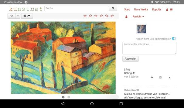 KunstNet: Art and Artists Community screenshot 2