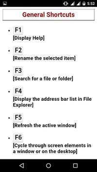 Shortcut Keyboard Guide screenshot 2