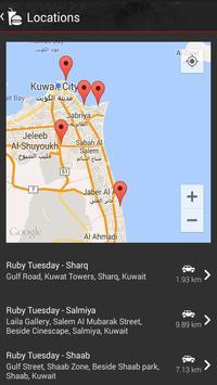 Ruby Tuesday Kuwait screenshot 5