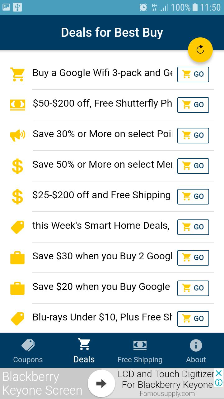 Promo codes and coupons for Best Buy for Android - APK Download