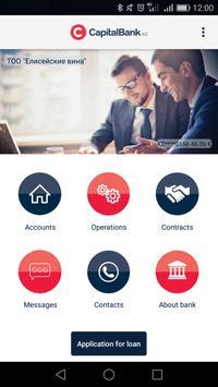 Capital Bank Kazakhstan screenshot 1