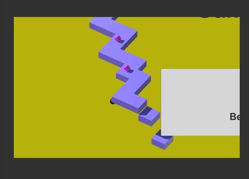 Follow a ball in the infinite platform screenshot 1