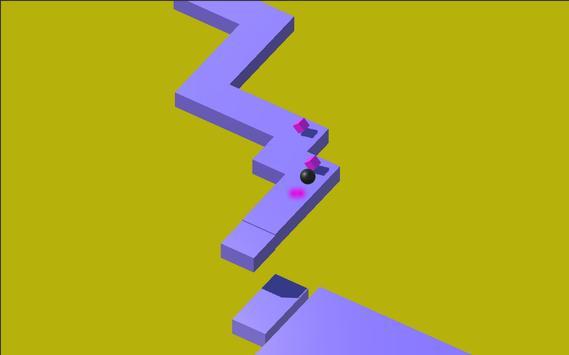 Follow a ball in the infinite platform screenshot 2
