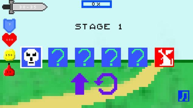 Mini Pixel Roguelike RPG poster