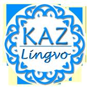 Kaz lingvo.Kazakh translator icon