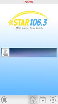Star 106.3 poster