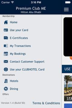 Premium Club Middle East screenshot 2