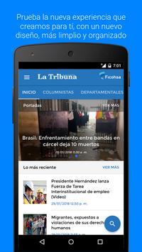 Diario La Tribuna Honduras poster