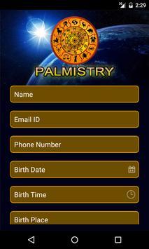 Palmistry App poster