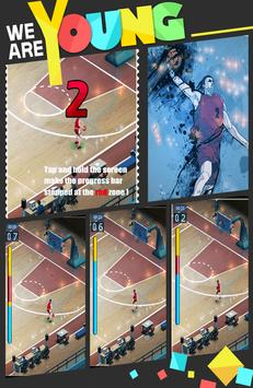 Basketball Dunk 3-point Shot poster