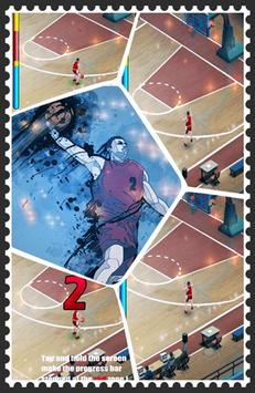 Basketball Dunk 3-point Shot apk screenshot