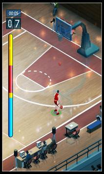 Basketball Dunk 3-point Shot apk screenshot