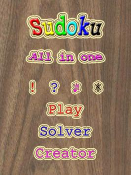 sudoku solver apk screenshot