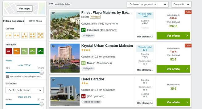 Hoteles en Cancún screenshot 5