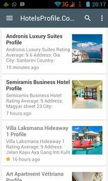 Hotels Profile apk screenshot