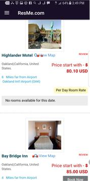 ResMe.com Hotel Partners screenshot 2