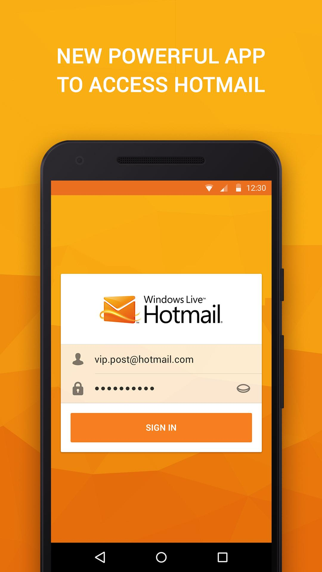 Hotmail in mobile www com sign Hotmail Sign
