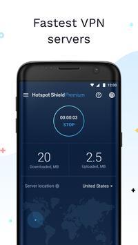 Hotspot Shield Gratis VPN Proxy & Keamanan WiFi apk screenshot