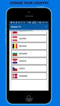 MOBILE TV:ONLINE LIVE HD TV poster