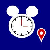 Tokyo Disneyland Wait Time icon