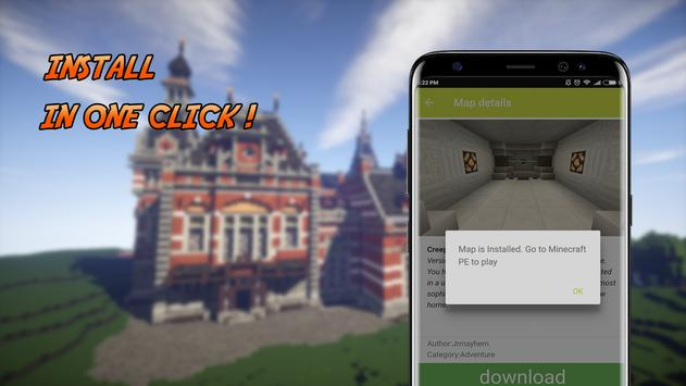 House maps for Minecraft PE apk screenshot
