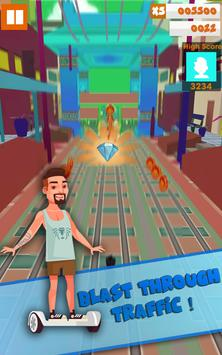 Hoverboard Subway Rush - Hoverboard Games screenshot 1