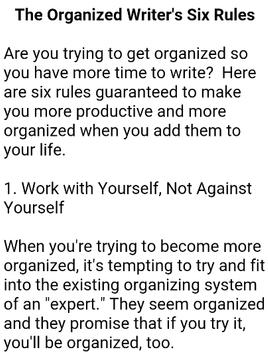 How To Become a Writer screenshot 7