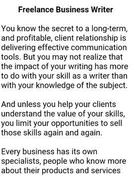 How To Become a Writer screenshot 4