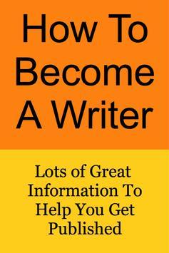 How To Become a Writer screenshot 5