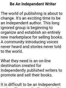 How To Become a Writer screenshot 8