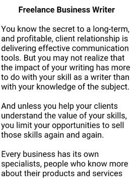 How To Become a Writer screenshot 9