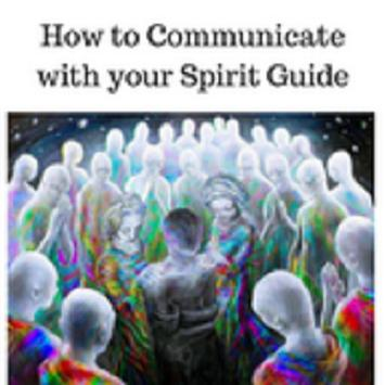How to communicate with your spirit guides poster