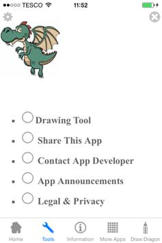 How to Draw a Dragon apk screenshot