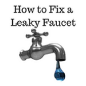 How to fix a leaky faucet icon