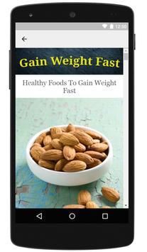 How To Gain Weight Fast screenshot 2