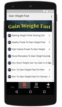 How To Gain Weight Fast screenshot 9