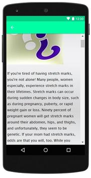 How To Get Rid Of Stretch Marks screenshot 3