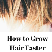 How to Grow Hair Faster icon