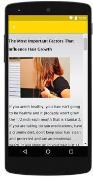 How to Grow Hair Faster screenshot 2
