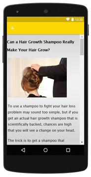 How to Grow Hair Faster screenshot 5