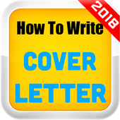 How To Write A Cover Letter 2018 icon